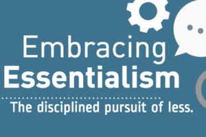 Infographic: Embracing Essentialism
